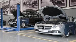 taller Mercedes oficial